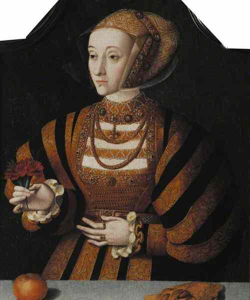Анна Клевская. Портрет начала 1540-х гг.